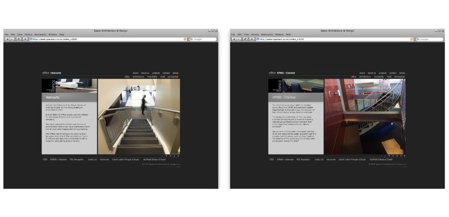 Space architecture design flash website for Room planning website